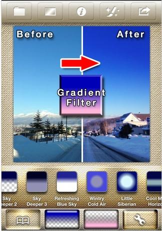 01 gradgam gradient iPhone