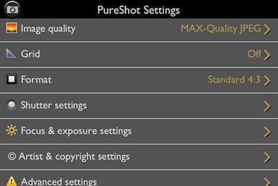 02 Pure Shot iPhone