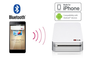 03 LG Pocket Printer iPhone