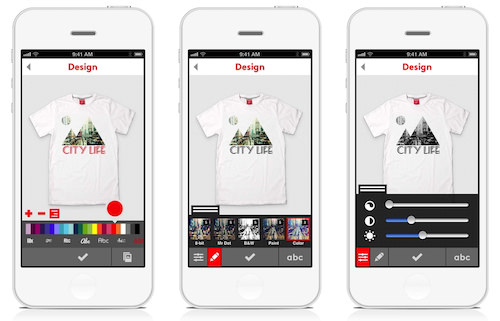 Put your iPhone photos on a T-shirt... tell everyone... make money ...